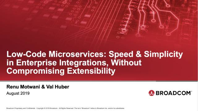Low-Code Microservices: Speed and Simplicity in Enterprise Integrations
