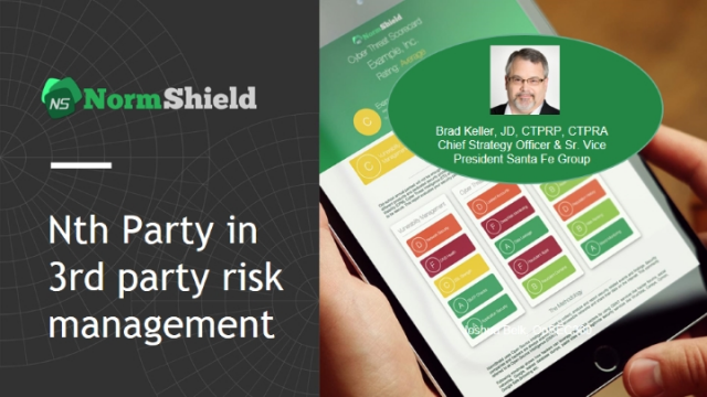 The challenge of the Nth Party in 3rd party risk management