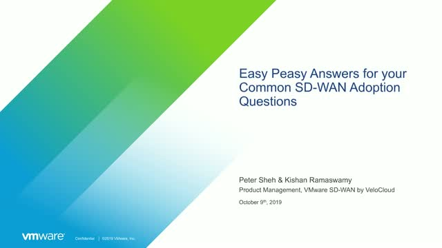 Easy-Peasy Answers to your Common SD-WAN Questions