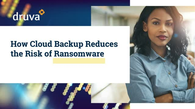 Bounce back from ransomware attacks with SaaS backup. On your terms.