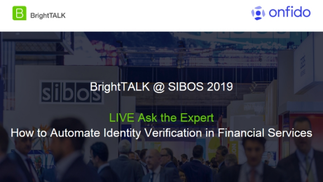 Ask the Expert: How to Automate Identity Verification in Financial Services