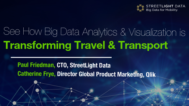 See How Big Data Analytics & Visualization is Transforming Travel & Transport
