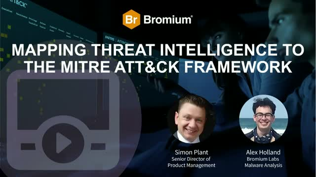 Mapping threat intelligence to the MITRE ATT&CK Framework