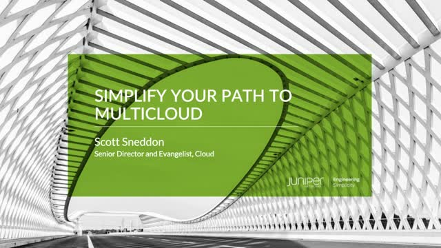 Simplify Your Path to Multicloud