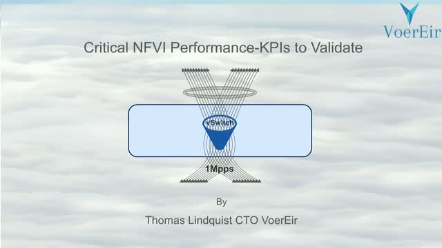 Critical NFVI Performance - KPIs to Validate