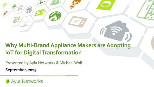 Why Multi-Brand Appliance Makers are Adopting IoT for Digital Transformation