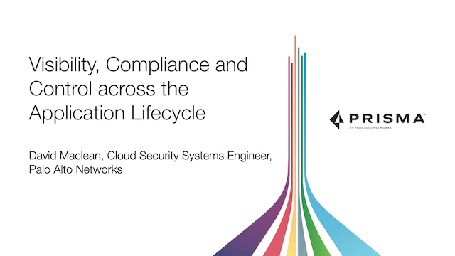 Visibility, Compliance and Control across the Application Lifecycle