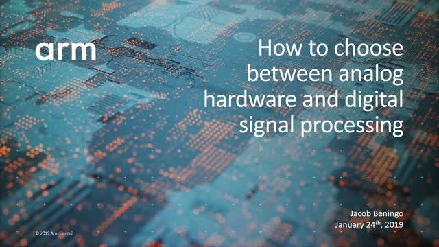 How to choose between analog hardware and digital signal processing software