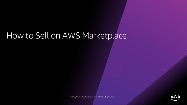 Changing the way you buy and sell software with AWS Marketplace and New Relic