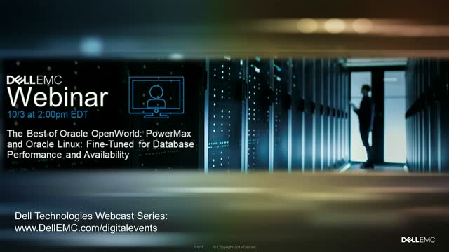 PowerMax and Oracle Linux: Fine-Tuned for Database Performance and Availability