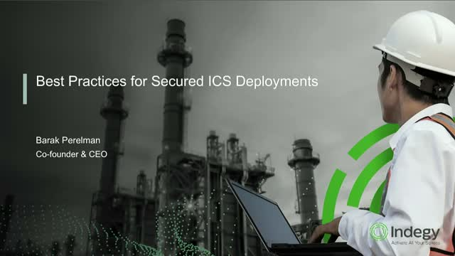 Best Practices for Secured ICS Deployments