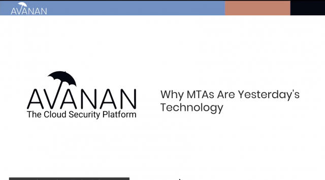 Why MTAs Are Yesterday's Technology