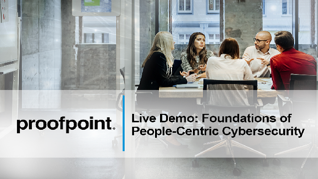 Live Demo: Foundations of People-Centric Cybersecurity