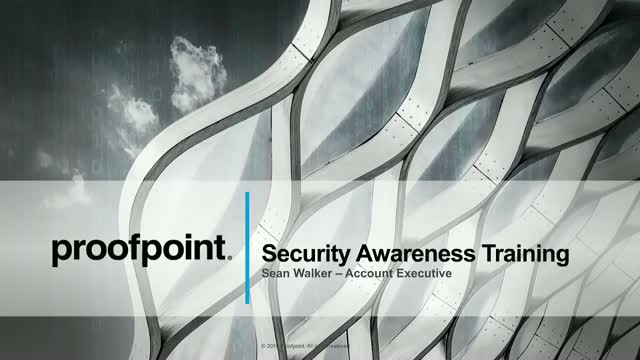 Security Awareness Training from Proofpoint