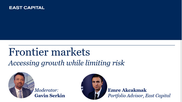 Frontier markets: Accessing growth while limiting risk