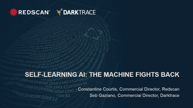 Self-Learning Cyber AI: The Machine Fights Back