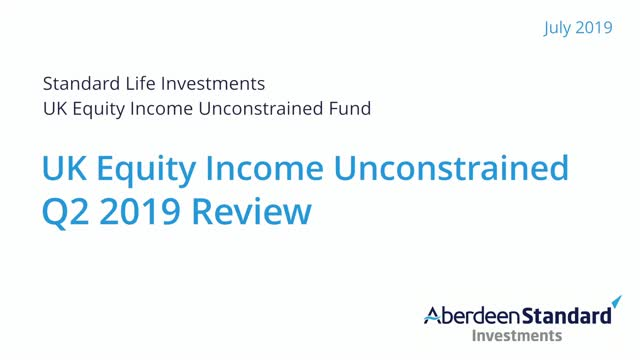 UK Equity Income Unconstrained Q2 2019 Review
