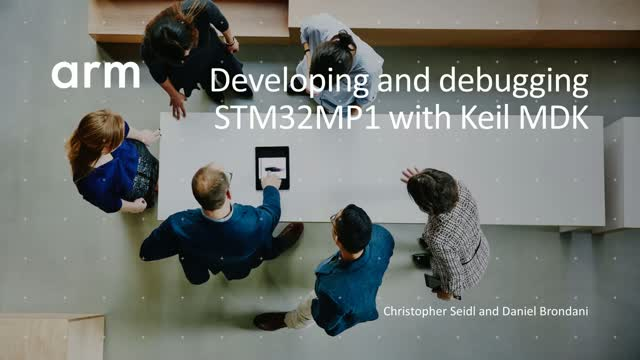 Developing and debugging STM32MP1 with MDK