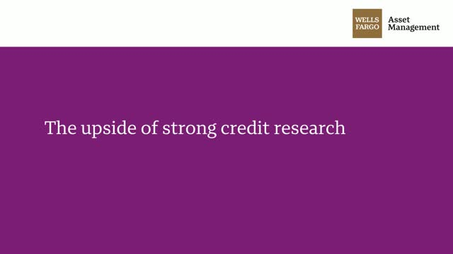 The upside of strong credit research