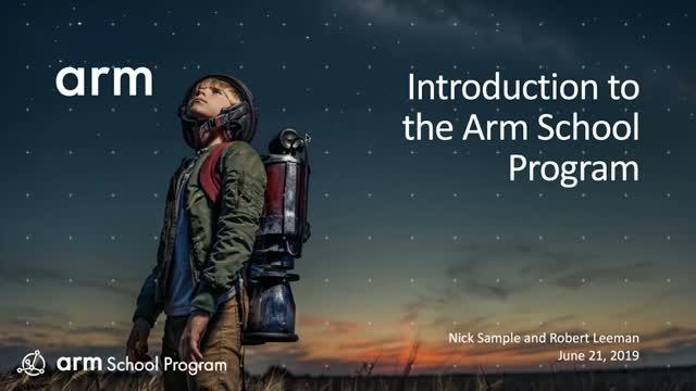 Introducing the Arm School Program – supporting teachers to help close the STEM