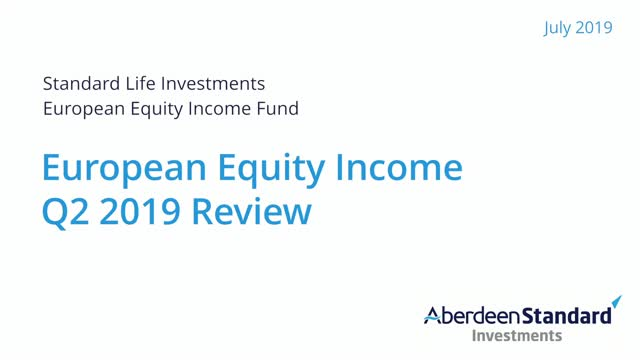 European Equity Income Q2 2019 Review