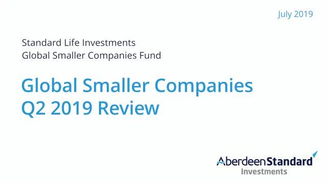 Global Smaller Companies Q2 2019 Review