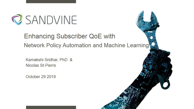 Enhancing Subscriber QoE with Network Policy Automation and Machine Learning