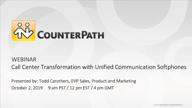 Call Center Transformation with Unified Communication Softphones