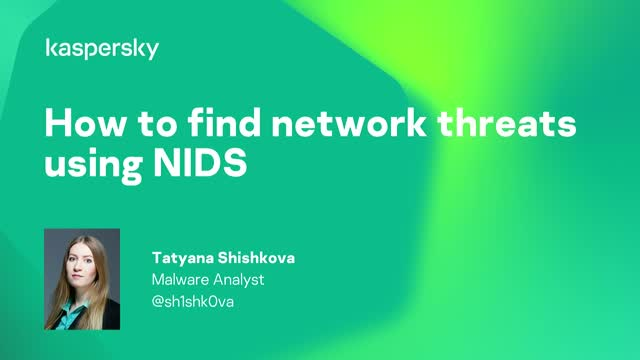 How to find network threats using NIDS