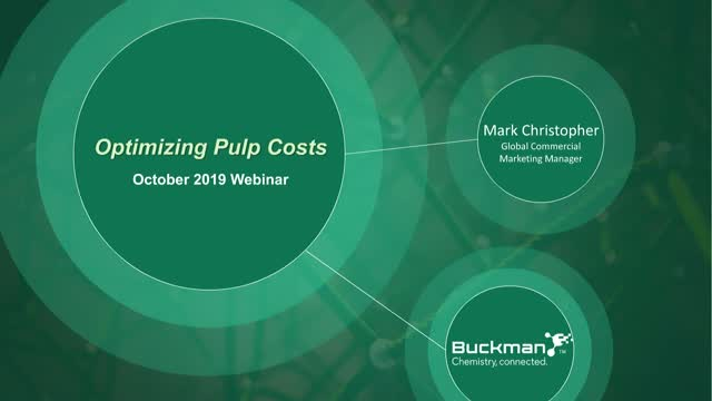 The Right Chemistry to Lower Your Pulp Costs