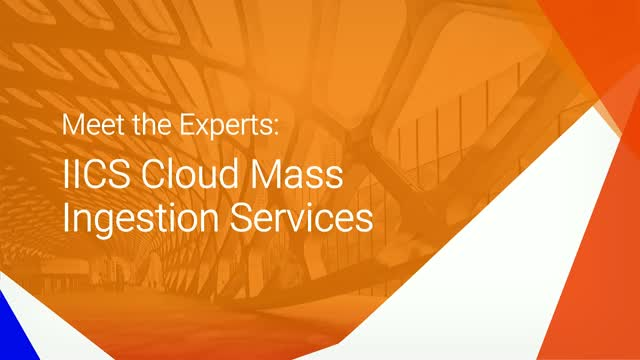 Meet the Experts: Ingesting Data to Your Cloud Data Lake or Cloud Data Warehouse