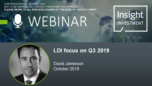 LDI review and outlook | October 2019