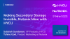 Making Secondary Storage Invisible, Nutanix Mine with HYCU