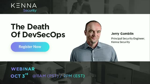 The Death Of DevSecOps