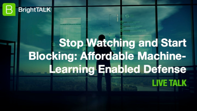 Stop Watching and Start Blocking: Affordable Machine-Learning Enabled Defense