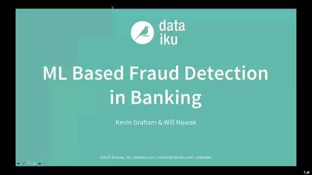 Use Case Demo: Machine Learning Based Fraud Detection