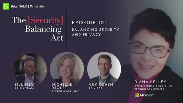 Balancing Security and Privacy