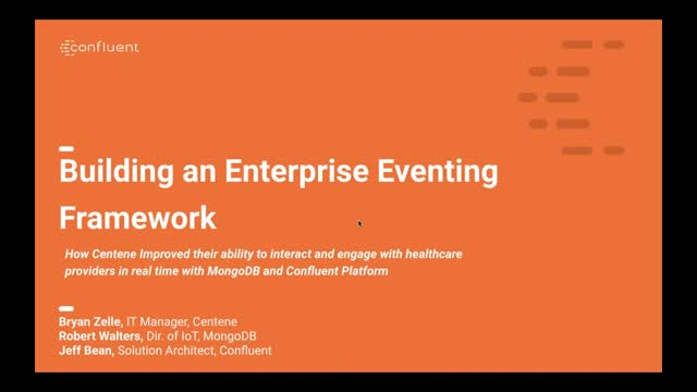 Building an Enterprise Eventing Framework