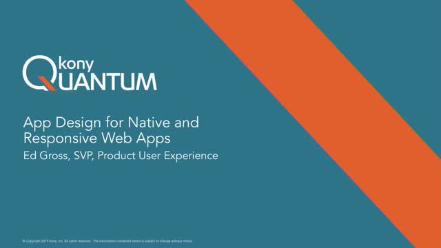 Design Best Practices for Native Mobile and Responsive Web