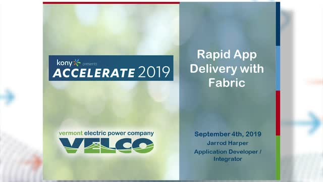 Rapid App Delivery with Fabric
