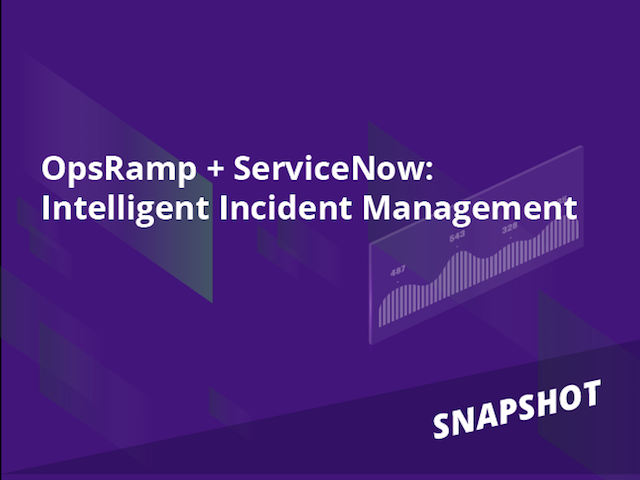 Snapshot: Intelligent Incident Management