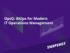 Snapshot: AIOps for Modern IT Operations Management