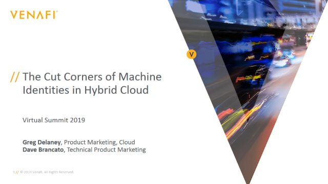 Who's Cutting Corners with Machine Identities in Your Hybrid Cloud?