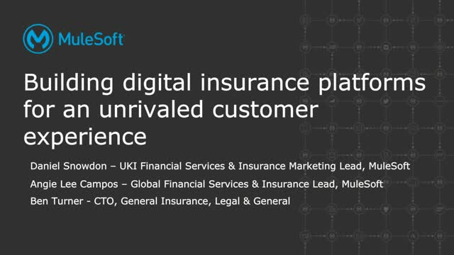 Building a platform for digital insurance