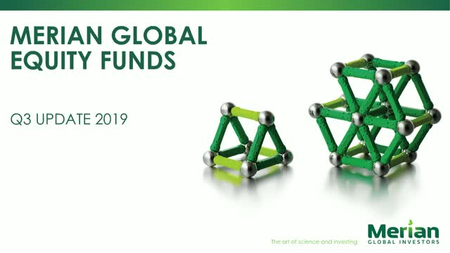 Global Equities update with Dr. Ian Heslop & Justin Wells - Q3 2019 PM