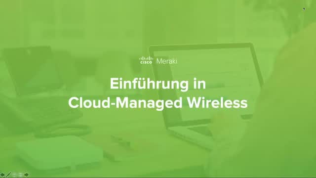 Deutsch - Einführung in Cloud-Managed Wireless