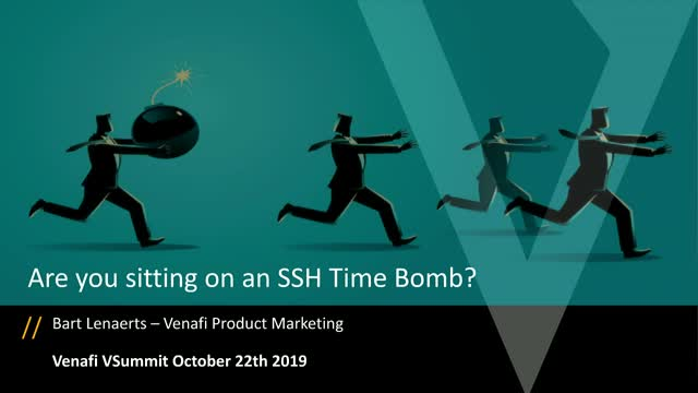 Are You Sitting on an SSH Time Bomb?