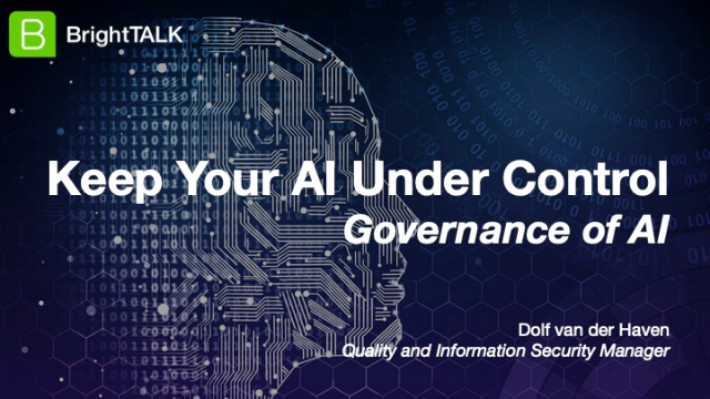 Keep Your AI Under Control – Governance of AI
