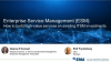 How to Build High-Value Enterprise Services on Existing ITSM Investments