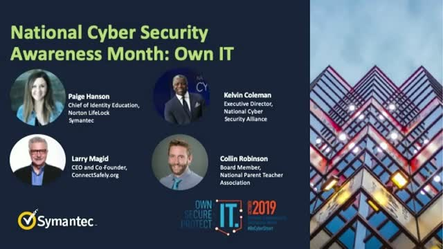 National Cyber Security Awareness Month - Own IT